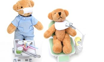 teddy bear dentists providing gentle dental care